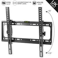"Slim TV Wall Mount Tilt Bracket 26 28 30 32 40 42 48 50 55"" LED LCD Flat Screen"