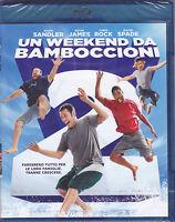 Blu-ray **UN WEEKEND DA BAMBOCCIONI** con Adam Sandler nuovo 2013