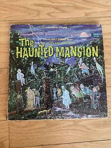 1969 WALT DISNEY THE HAUNTED MANSION 12 inch 33 LP RECORD & BOOK 3947 NO SKIPS