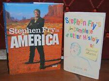 Stephen Fry in America and Incomplete & Utter History of Classical Music Hardbac