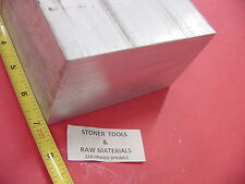 "3"" X 6"" ALUMINUM 6061 FLAT BAR 7"" LONG SOLID T6511 3.00"" Plate Mill Stock"