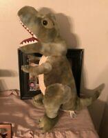"""Green T-Rex Tyrannosaurus Rex Dinosaur Stuffed Animal Plush Toy Large Jumbo 20"""""""