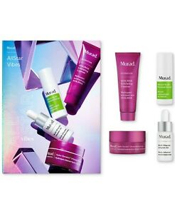 New In-box - Retail Value $81 - Limited Murad 4-Pc. All Star Vibes Set