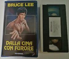 VHS - DALLA CINA CON FURORE di Lo Wei [FUTURAMA]