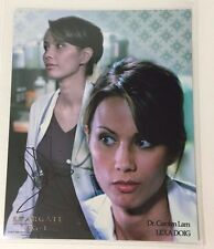 "Lexa Doig ""Dr. Carolyn Lam"" Stargate SG1 actress hand signed autographed photo"