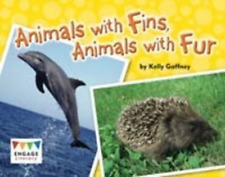 Gaffney  Kelly-Animals With Fins  Animals With Fur (UK IMPORT) BOOK NEW