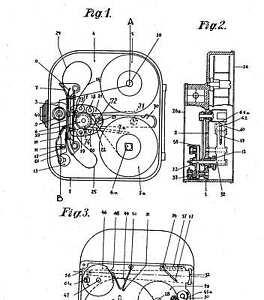 Vintage cinematographic camera / objective: Paillard / Bolex: Infos 1922-70