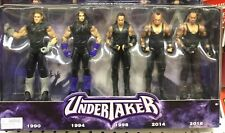 WWE UNDERTAKER Set Of 5 Action Figures. Years Of The Deadman!!! Brand New.