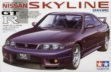 Tamiya 24145 1/24 Scale Model Sports Car Kit Nissan Skyline GT-R R33 V-Spec NIB