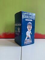 David Wells #33 New York Yankees Bobblehead  NY SGA 1998 Perfect Game