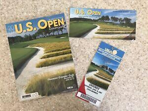 2007 US Open Championship Oakmont Golf Ticket, Program,& Saturday Pairing Sheet