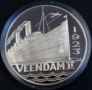 Holland America Line 125 years 1873-1998 Veendam II Holland Amerika Lijn medal