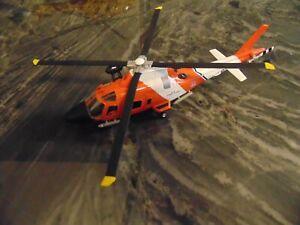 "Amercom Agusta MH-68A Stingray Helicopter US Coast Guard 2004 ACHY18 10"" long"
