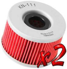 2 Pack: Oil Filters Pro Series Powersports Cartridge K&N KN-111 - For Honda ATV