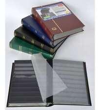 COLLECTA-Luxus-60 schwarze Seiten A4 Briefmarkenalbum Einsteckbuch