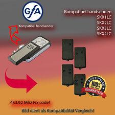 Handsender für GFA Garagentorantriebe 433,92 MHz SKX1LC,SKX2LC,SKX4LC Funksender