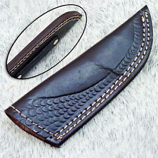 Leather Sheath For Fixed Blade Knife For 7.0 Inch Knife Brown Leather WD-3127