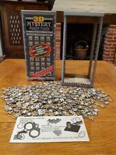 1994 3D Mystery jigsaw Puzzle 504 PIECES ONLY ONE ON EBAY UK ! SOLVE THE CRIME