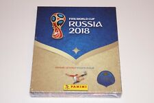 PANINI Russia 2018 World Cup 18 - OVP Limited Giftbox Gold Hardcover + 100 Tüten