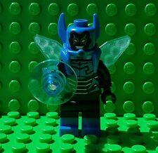 LEGO SUPERHEROES - Blue Beetle Minifigure - Split From 76054