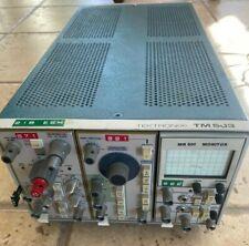 New Listingtektronix Tm 503 With Am 502 Rg 501 And Mr 501 Monitor