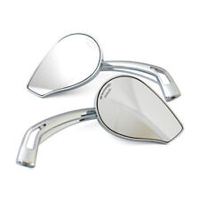 1 Paar Spiegel Phönix 2, Chrom, für Harley-Davidson mit E-Prüfzeichen