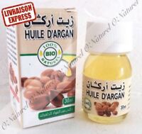 Huile d'Argan BIO 30ml 100% Naturelle Argan oil, Aceite de Argan