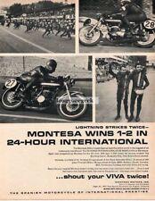 1967 Montesa 250cc Impala Special Spanish Motorcycle Vtg Print Ad