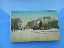 AK Breslau Tauentzienplatz 1912 gelaufen koloriert Postkarte Schlesien