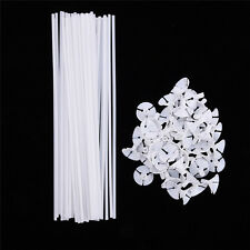 100 Sets Plastic Balloon Holder Sticks & Cups Tray Party Decor Appliance Popular