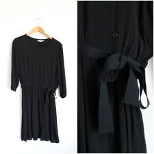 Black & other stories midi dress size 10