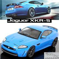 Jaguar XKR-S French Racing Blue 1:43 Scale Die-cast Dealer Model Car by IXO