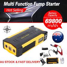 69800mAh 12V Car Jump Starter Emergency Charger Booster Power Bank Battery 4USB