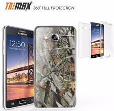 For Samsung Galaxy On 5 SM-G550 Tri Max 360 Full Body Protection Case Fall Camo