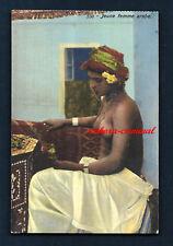AK - LEHNERT & LANDROCK - Nr. 538 - Jeune femme arabe - HAREM - AFRIKA - MAGHREB