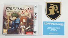 Fire Emblem Echoes Shadows of Valentia, CON PARCHE Nintendo 3ds, Pal-Esp. Nuevo.