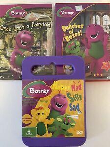Barney - DVD - 3 Great Titles