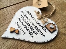 Personalised New First Home Gift Keepsake Plaque Sign House Warming Present ⭐