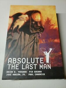 Absolute Y The Last Man Vol 1 Vertigo Comics Brian K. Vaughan 2015 Hardcover HC