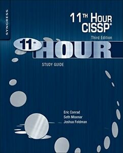 Eleventh Hour CISSP®: Study Guide by Conrad, Eric Book The Cheap Fast Free Post