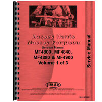 New Fits Massey Ferguson 4880 Tractor Chassis Service Manual