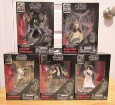 Star Wars the Black Series 40th Anniversary Titanium Series - Complete Set of 5