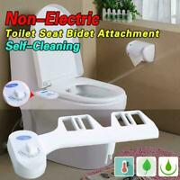 New Toilet Seat Attachment Fresh Water Spray Non Electric Mechanical Bidet