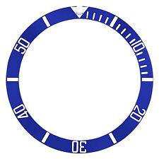 Engraved # Blue Silver 16610 16800 New Bezel Insert Ceramic For Rolex Submariner