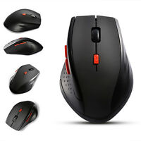 2.4GHz Cordless Wireless Optical Mouse Mice for Laptop PC Computer+USB Receiver