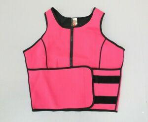 Perfect Sculpt Women's Sleeveless Weight Loss Sauna Sweat Vest Pink MM1 Size XS