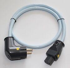 Supra Cables LoRad MKII CS EU  Netzkabel  Winkelstecker 3x2,5 mm² 10 Amp 1 m
