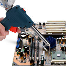 Us 110v 60w Hand Held Auto Send Tin Heat Gun Electric Soldering Welding Tool Kit