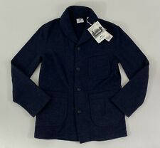Engineered Garments x Uniqlo Fleece Shawl Collar Jacket in Navy SZ. XS