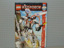 LEGO® Exo-Force Bauanleitung 7700 Stealth Hunter ungelocht instruction B3433